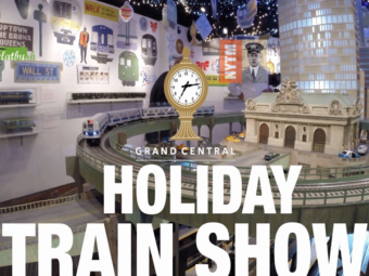 Holiday Train Show @ Grand Central